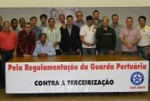 Trabalhadores vão encaminhar à SEP propostas para  regulamentação da Guarda Portuária