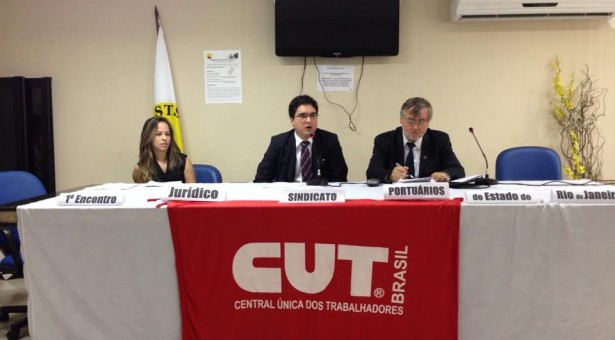 PRIMEIRO ENCONTRO JURÍDICO – SINDICATO DOS PORTUÁRIOS