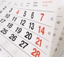 Calendário de Atividades 2015
