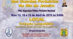 I ENCONTRO NACIONAL DAS GUARDAS PORTUÁRIAS NO RIO DE JANEIRO