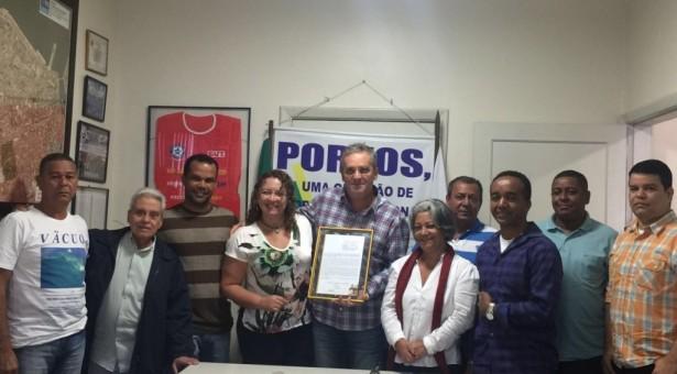 SINDICATO DOS PORTUÁRIOS DO RIO DE JANEIRO RECEBE MOÇÃO DA ALERJ