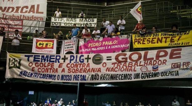 Sindicato dos Portuários do RJ participa do lançamento da Campanha: Se é Público, é Para Todos!