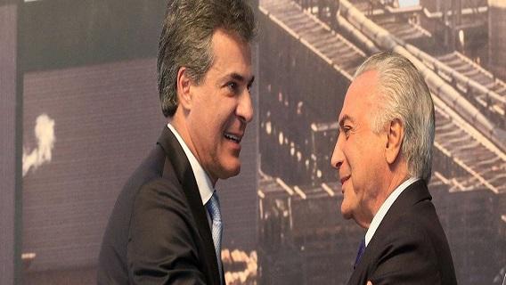 Richa já discute com Temer privatização de Paranaguá