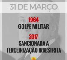 31 DE MARÇO: A CONCRETIZAÇÃO DE UM GOLPE