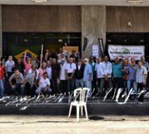 Portuários se organizam em ato público no dia de mobilização nacional