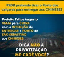 Companhia Docas de São Sebastião, China e risco de privatização
