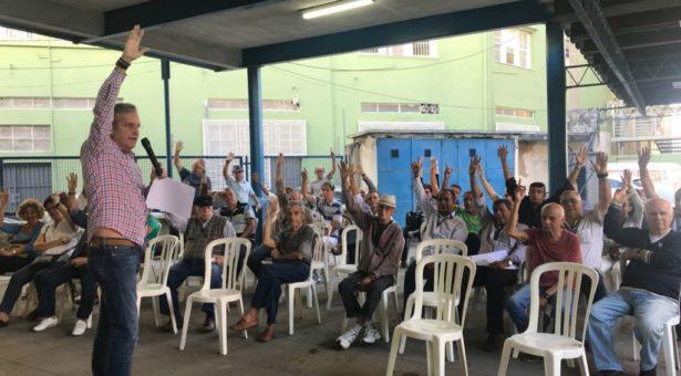 sindicato dos portuários aprova estado de greve em assembleia