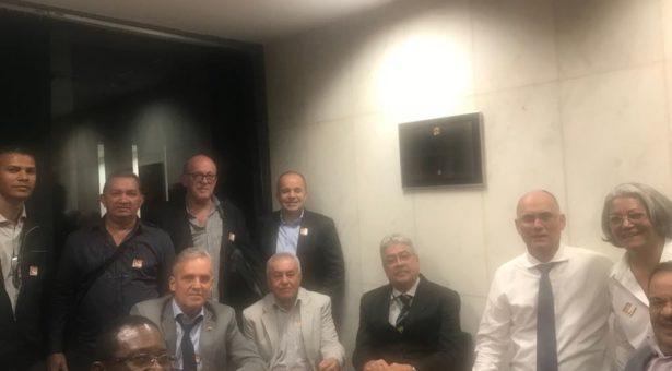Em Brasília, representantes do Sindicato cumprem agenda