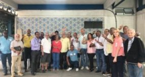 Sindicato dos Portuários do RJ realiza café da manhã com candidatos