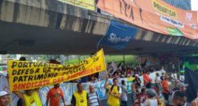 Portuários se unem com Petroleiros em defesa da Soberania Nacional