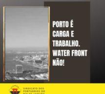 Cais da Gamboa: Não à especulação imobiliária